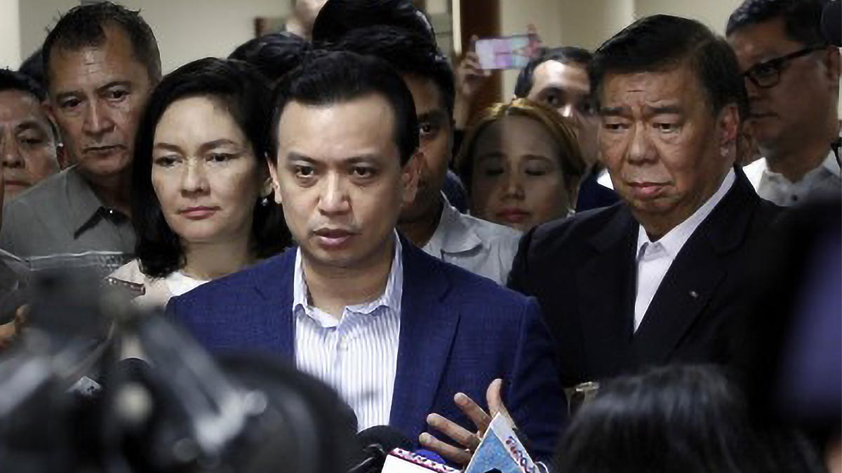 QC court orders arrest of Trillanes, others in sedition raps