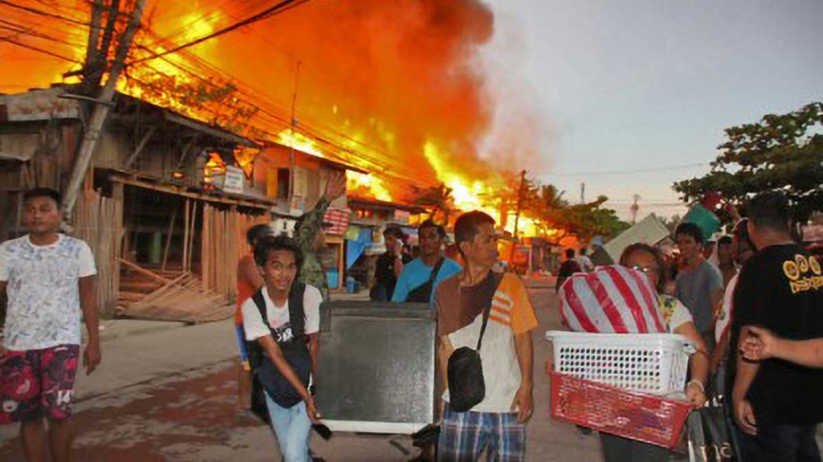 Fire displaces 251 families in Butuan