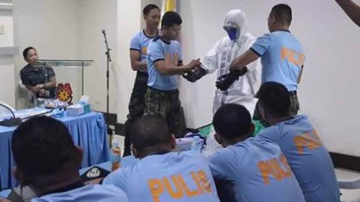 E. Visayas cops acquire Covid-19 protective gear