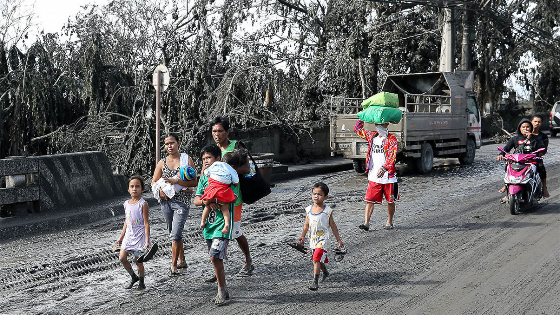DOH steps up Taal eruption response