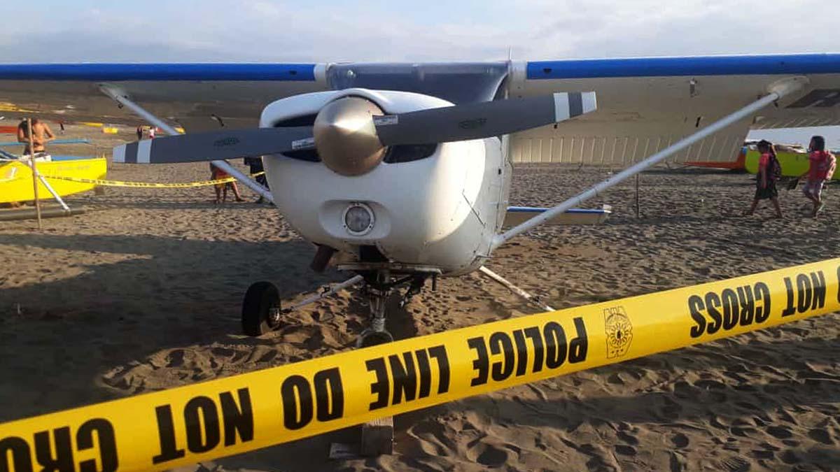 Training plane emergency landed in Ilocos Sur, 2 passengers safe