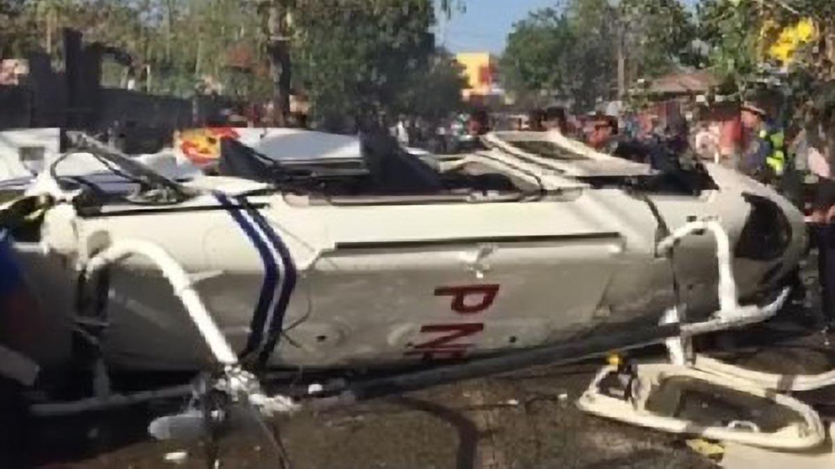 2 PNP execs in critical condition after chopper crash